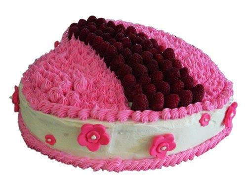 Điện hoa tươi và Quà tặng - Bánh kem Đồi hồng