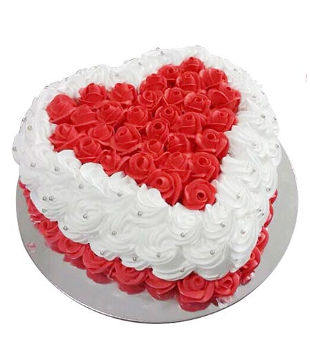 Điện hoa tươi và Quà tặng - Bánh Trái tim ngọt ngào