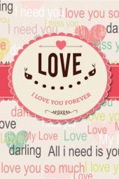 Thiệp Tình yêu số 1
