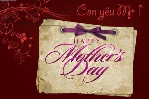 Thiệp tặng Mẹ số 9