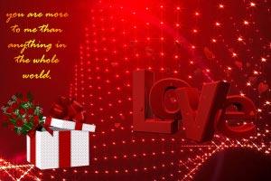 Thiệp Tình yêu số 22