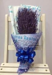 Bó hoa khô Lavender 1