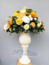 Bình hoa vải đại sảnh cao cấp