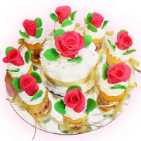 Bánh Vườn hồng