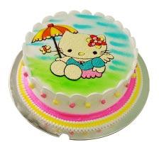 Bánh hình Mèo Kitty