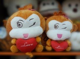 Khỉ bông đang yêu (30cm)
